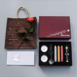 Customised Sealing Wax Stamp Gift Box Set