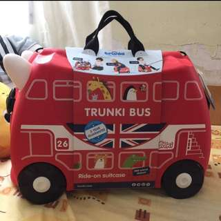 TRUNKI LONDON BUS- BRAND NEW WITH POSTAGE