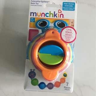 Munchkin caterpillar spiller bath toy