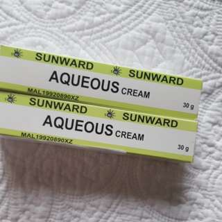 Sunward Aqueous cream