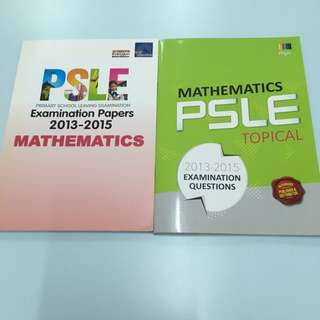 PSLE Past Year Maths Papers