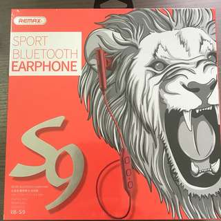 NEW Remax sport bluetooth earphone S9