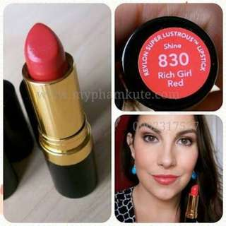 Revlon 830 Rich Red