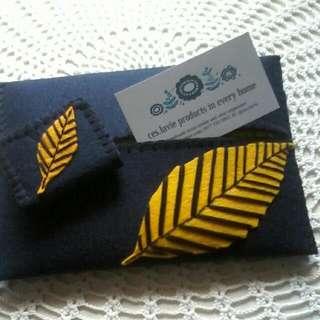 Handmade Tissue Holder & Cord / Earphone Organizer