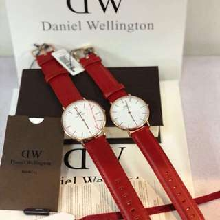 DW CLASSIC LIMITED RED (40/36mm)