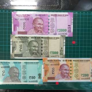 INDIA NEW NOTES
