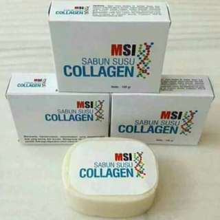 Collagen soap