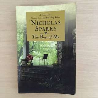 SIGNED The Best of Me by Nicholas Sparks