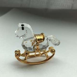 Swarovski crystal horse  施華洛世奇水晶 馬