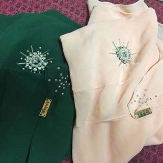 Naelofar Hijab Instant Shawl Copy Ori