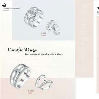 Couple Ring Silver 925