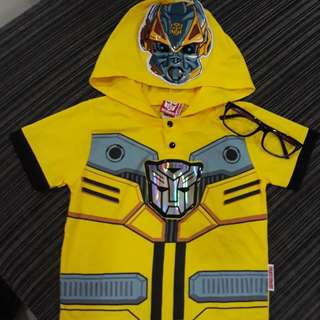 Preloved Hasbro Transformers Children Tshirt size M