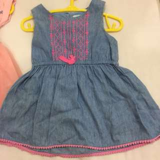 Gingersnap baby dress 3-6m