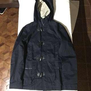 Uniqlo Hoodie & H & M parka jacket