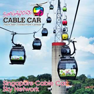 Cheap sentosa cable car 2 way e tickets for sale!!!!!