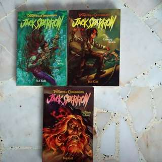 Jack Sparrow series (Kidd) The Pirates Chase, The Coming Storm & The Siren Song