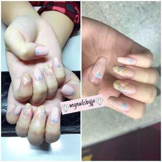 Gel nails!!!