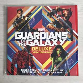 Guardians of the Galaxy Soundtrack Vinyl LP