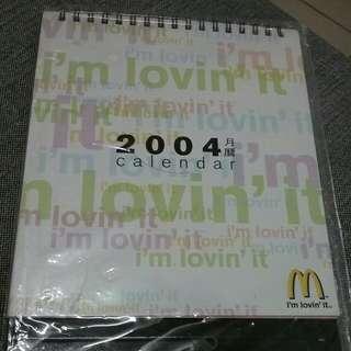 2004年日曆