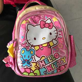 Authentic hello kitty Sanrio backpack