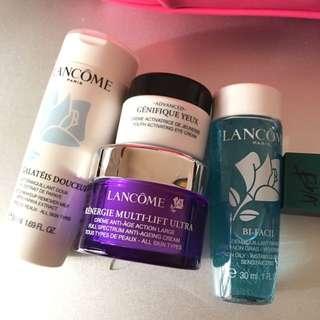 Lancôme skincare set