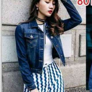 Denim jacket fits S-L