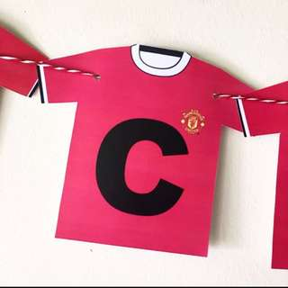 Man United wall banner / bunting