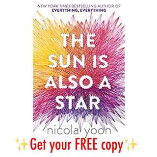 #FREE The Sun is Also A Star Nicola Yoon
