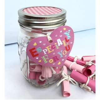 D.I.Y Mother's Day Gift Jar - Sweet Love