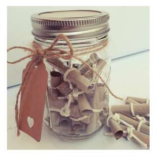 D.I.Y Valentine's Day Gift Jar - Just For You