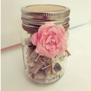 D.I.Y Valentine's Day Gift Jar - Love Notes