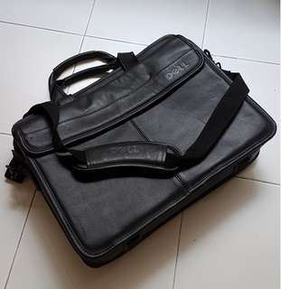 Notebook leather bag