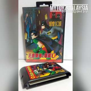 [Preloved/Used] Sega Mega Drive Cartridge: Batman & Robin