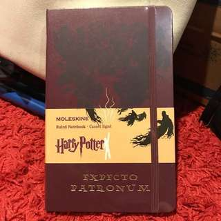Moleskine Harry Potter Limited Edition, Large - Expecto Patronum