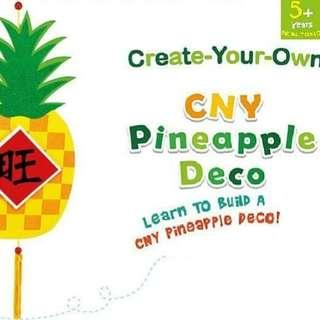 CNY Pineapple Deco