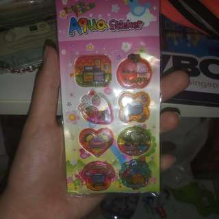 Water Stickers