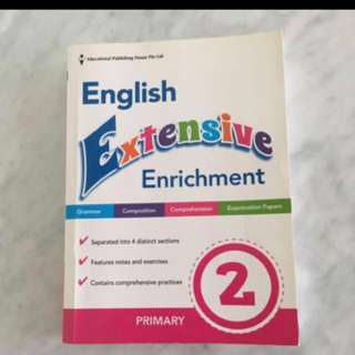 English Assessment book Primary 2