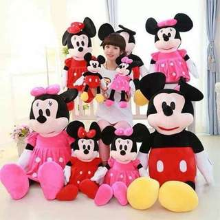 Mickey/Minnie Mouse Stuffed Toys