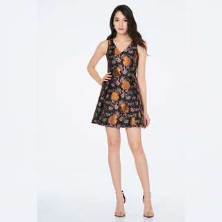 TCL Royal Tapestry Lattice dress
