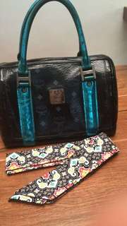 Authentic MCM Speedy 25 Limited Edition