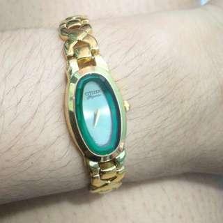 Like New Citizen Elegance Gold Watch