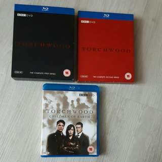 3 Seasons of BBC's Torchwood