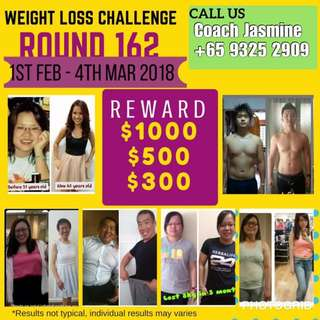 30 Days Weight Loss Challenge (February)