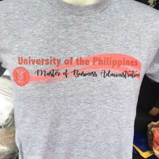UP MBA/MSF T-Shirts