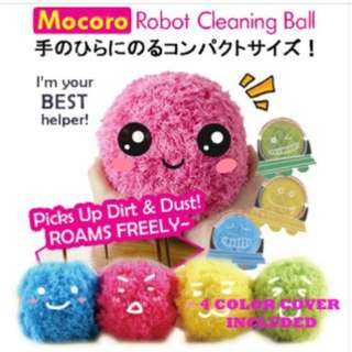 Ready Stock-Mocoro Robotic Microfiber Mop Ball [Automatic Vacuum Cleaner]1 set 4 colored covers