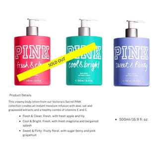 Pink by Victoria's Secret Perfumed Lotion