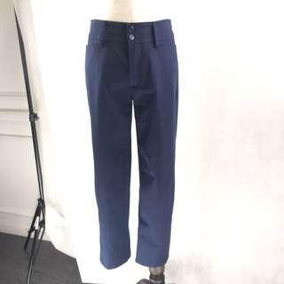 Agnes b Navy Blue Pants *COMPANY SAMPLE