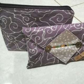 Pouch & Travel Tissue Cover