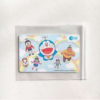 Limited Edition Doraemon and Friends Ez-Link Card