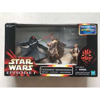 Starwars: Tatooine Showdown of Darth Maul & Qui-Gon Jinn